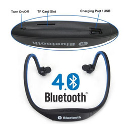 $enCountryForm.capitalKeyWord Canada - 5pcs lot Sport Wireless Handfree Bluetooth 4.0 Original S9 Earphone Headphone Headset Support TF Card for Samsung iPhone Phones