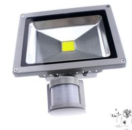 Detective light online shopping - AC V W W W W W W PIR LED Floodlight Outdoor LED Flood light lamp with Motion detective Sensor spot
