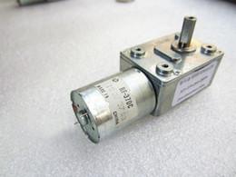 Wholesale 2 3 6 10 18 60 100 rpm 12V Motor 1-375r min DC 6V 24V Gear Motor Reversed Torque Reduction S 12 Volt Geared Worm Motor