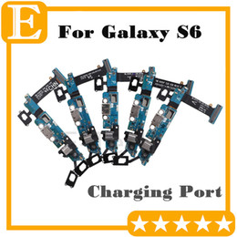 s6 dock connector Australia - OEM For Samsung Galaxy S6 G9200 G920F G920V VS G920P G920A G920T Charger Charging Port Dock Connector Micro USB Sensor Flex Cable 50PCS