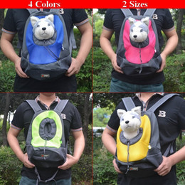 $enCountryForm.capitalKeyWord Canada - Pet Dog Carrier Pet Backpack Bag Portable Travel Bag Pet Dog Front Bag Mesh Backpack Head Out Double Shoulder Outdoor