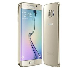 "Unlocked Android Mobile Phones Canada - Samsung Galaxy S6 edge Original Unlocked 4G GSM Android Mobile Phone G925F Octa Core 5.1"" 16MP 3GB RAM 32GB ROM"