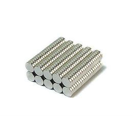 $enCountryForm.capitalKeyWord Australia - Wholesale - In Stock 100pcs Strong Round NdFeB Magnets Dia 4x1mm N35 Rare Earth Neodymium Permanent Craft DIY Magnet Free shipping