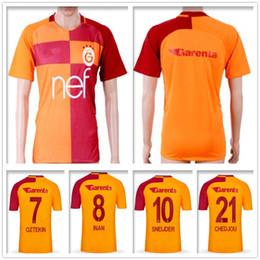 8302b056879 Soccer Jersey Cheap NZ - Cheap Thai Quality Galatasaray Football Jersey  Sneijder Yasin Oztekin Eren Derdiyok