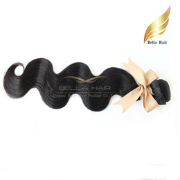 CHEAP Brazilian Hair Bundles Malaysian Peruvian Indian Hair Extensions Virgin UNPROCESSED Human Hair Weaves Body Wave wavy Bellahair 1pc 7A