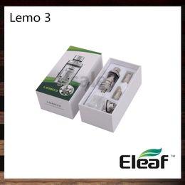 ElEaf airflow tank online shopping - Ismoka Eleaf Lemo Atomizer ML Lemo RTA Tank Top Filling Smooth Airflow Original VS Eagle Tank Tsunami RDA Glass Window