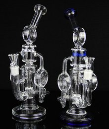 $enCountryForm.capitalKeyWord Canada - Bong! - New glass water pipe Cyclone Helix bongs Such an intricate double Recycler glass bong helix perc bong oil rig oil rig
