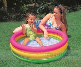 $enCountryForm.capitalKeyWord Canada - Inflatable Swimming Pool Round Paddling Pool Sand Pit Ball Pool for Baby Child Summer Outdoor Play