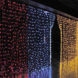 $enCountryForm.capitalKeyWord Canada - AC 110V 220V 3x3M LED Curtain Light Garland LED Holiday Lighting String Lights for Fairy Wedding Christmas New Year Indoor Garden Decoration