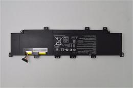 $enCountryForm.capitalKeyWord Canada - Wholesale-Original Battery C21-x502 Battery for Asus Vivobook X502 X502c X502ca Series Laptop battery 7.4v 5136mAh,38Wh Free shipping