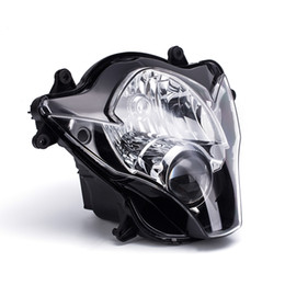 Headlamp Assemblies Canada - Motorcycle Front Headlamp Assembly For Suzuki 2006 2007 GSXR 600 GSXR 750