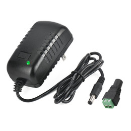 $enCountryForm.capitalKeyWord NZ - AC 100-240V to DC 12V 2A Power Supply Adapter 5.5x2.1mm Switching for CCTV Camera DVR NVR Led Light Strip