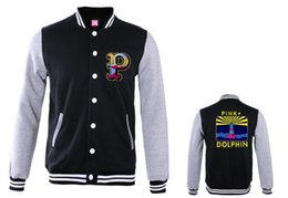 pink dolphin clothing brand 2019 - Fall-Men Jackets Pink dolphin fleece outerwear Coats brand name Men's clothing jacket hiphop autumn and winter Appa