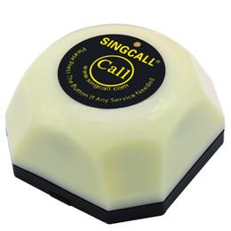 Система Singcallwireless школы вызова ,кнопка белый один вызов гостевой вызов официанта система,с базы съемный водонепроницаемый
