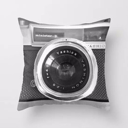 bedroom camera NZ - 3D Digital Camera Printed Pillowcase Art Bedroom A Living Room Cushion Creative Fashion Bedroom Decoration Pillowcase