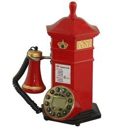 EuropEan tElEphonE antiquE online shopping - European style nostalgic classic old fashioned landline telephone home personalized creative decoration antique caller