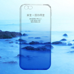 Chinese  For Mac iphone6   6s 6s new protective sleeve phone shell mobile phone sets transparent gradient wholesale tpu manufacturers
