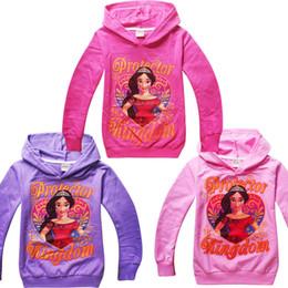 $enCountryForm.capitalKeyWord Canada - Cheap price New Winter Kids cartoon Elena of Avalor cotton long sleeve hooded sweatshirts for girls 3-12 years old