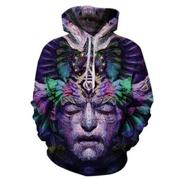 $enCountryForm.capitalKeyWord Canada - Wholesale-Alisister harajuku style mens Pharaoh Sweatshirt printed hoodies for women men Casual Unisex 3d character flowers hoodie