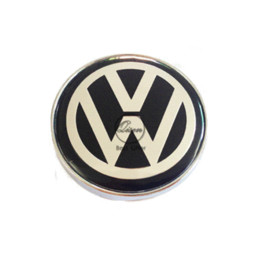 Vw Car Emblems Canada - 4 X 60MM BLACK CAR WHEEL Hub Center LOGO Caps Metal Aluminum emblem Fits for VW Golf 6 Jetta MK5 MK6 POLO