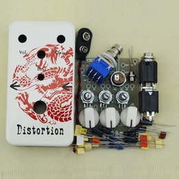 $enCountryForm.capitalKeyWord NZ - NEW DIY Distortion electic pedal kit guitarra &Distortion guitar Effects Dragon Pedal box(DS-2)+ FREE SHIPPING
