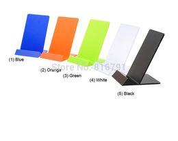 Perakende Mağaza Ekran Standı Mağaza Ekran Tutucu Iphone Samsung Cep Telefonu için 20 adet / grup
