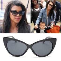 Radiation Sunglasses Canada - Brand Designer Cat Eye Sunglasses Women Anti-Radiation Sun Glasses Vintage Goggles Dark Glasses oculos de sol feminino Q022
