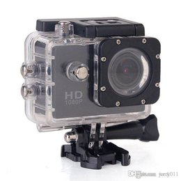 """Camcorder Helmets Canada - Action Camera 12MP Sports Cam 1080P Full HD DVR Diving 30M Waterproof Extreme Helmet DV Mini Camcorders 1.5"""" LCD H.264 2016 New"""