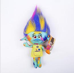 Dreams plush online shopping - 2017 The Newest Movie Trolls Plush Toy Poppy Branch Dream Works Stuffed Cartoon Dolls The Good Luck Trolls Christmas Gifts