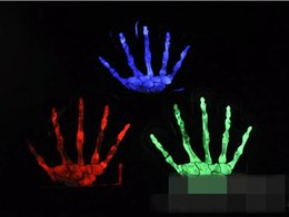$enCountryForm.capitalKeyWord Canada - Christmas Halloween Decorative Makeup Dance Glowing Illuminated Proof Fluorescent Gloves