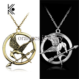 Mockingjay pendant necklace nz buy new mockingjay pendant necklace wholesale the hunger games katniss everdeen cosplay accessories metal mockingjay pendent chain alloy necklace mocking jay movie jewelry aloadofball Images