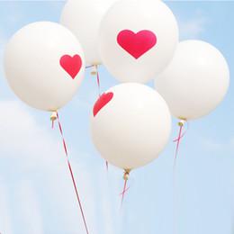 $enCountryForm.capitalKeyWord NZ - 20pcs Love Heart Printed 12inch Big Helium Latex Balloons Wedding Party Decoration Inflatable Air Balloon Birthday Balls Toys