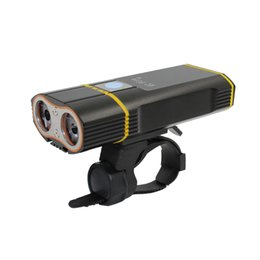 usb rechargeable flashlight cree led NZ - KC FIRE USB Rechargeable Super Bright 2400 Lumens Cree XML-L2 LED Waterproof Bicycle Headlight Installation Cycling Flashlight