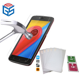 $enCountryForm.capitalKeyWord NZ - Spare Parts Mobile Phones For Motorola For Moto C XT1750   For Moto C 4G XT1754 XT1755 Clear Screen Protector Tempered Glass