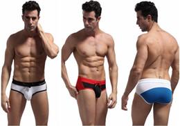 Brave swimwear online shopping - 4pcs Men s New Sportswear Swimming Trunks Beachwear Bikini low rise Briefs Shorts Swimwear Brave Person