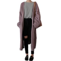 $enCountryForm.capitalKeyWord UK - Wholesale- Side Split Crochet Long Female Cardigan winter Warm Long Sleeve Knitting Sweaters Spring Women Large Size Loose Knitted Poncho