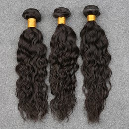 ocean wave hair NZ - Brazilian Virgin Hair Water Wave 3 Pcs Human Hair Bundle Slovevip Hair Products Ocean Weave Virgin Hair Curly Brazilian Natural Wave