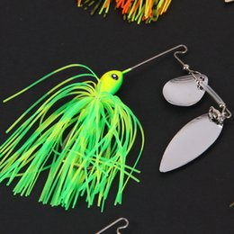 $enCountryForm.capitalKeyWord Canada - 2017 New 10PCS 7g 10g 14g 21g Spinnerbaits Fishing Lures or Rubber Jig Baits with Two Sequins and One Hook for Saltwater from China Weihai