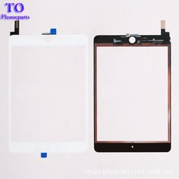 $enCountryForm.capitalKeyWord NZ - 50PCS New Touch Screen Glass Panel with Digitizer Replacement for iPad Mini 4 Black and White free DHL