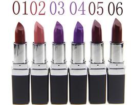 Mixing Red Purple Lipstick Canada - Vampire makeup qibest 12 color matte lipstick deep dark purple grape purple lipstick