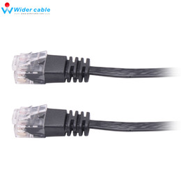 $enCountryForm.capitalKeyWord Canada - Black High Speed RJ45 Cat6 Cable Flat Ethernet Cable High Quality Computer LAN Cable Internet Network Cord 7ft