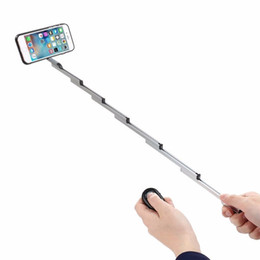 3 in 1 Selfie Stick w  Aluminum Cover For Iphone 8 7 6s Plus Foldable selfie With Case & Bluetooth Remote Shutter For Iphone 6S 6 7 8 on Sale