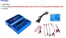 2018 ion blue Wholesale- With packing box 80W IMAX B6AC Li-ion LiPo LiFe NiCd NiMH Lead acid Lipro balance charger for RC airplane toy