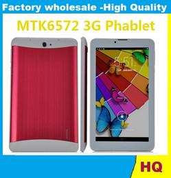 "$enCountryForm.capitalKeyWord Canada - 7"" Tablet PC 3G Phablet GSM WCDMA MTK6572 Dual Core Android 4.4 Dual SIM Camera Flash Light GPS Phone Call tablet"