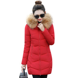 $enCountryForm.capitalKeyWord UK - Wholesale- Hot!2017 New Long Parkas Female Winter Coat Women Fake Fur Collar Winter Jacket Womens Outwear Parkas for Women Winter Outwear