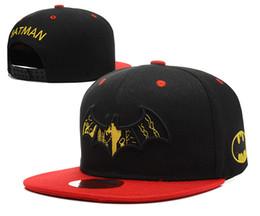 batman ball cap 2019 - The new batman baseball adjusting cap for men and women hip hop dance flat brim sun hat BA493 discount batman ball cap