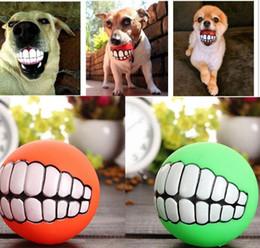 $enCountryForm.capitalKeyWord NZ - Pet Puppy Dog Funny Ball Teeth Silicon Chew Sound Dogs Play New Funny Pets Dog Puppy Ball Teeth Silicon Toy MYY