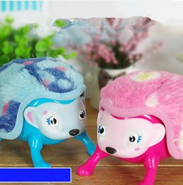 $enCountryForm.capitalKeyWord Canada - Interactive Pet Hedgehog with Multi-modes Lights Sounds Sensors Light-up Eyes Wiggy Nose Walk Roll Headstand Curl up Giggle Toys for Kids