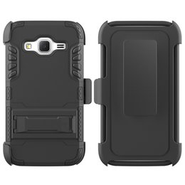 Core Super Canada - New Arrival All in One Super Combo Heavy Duty Shockproof Cell Phone Case With Clip TPU+PC For Samsung Prevail LTE   Core Prime G360