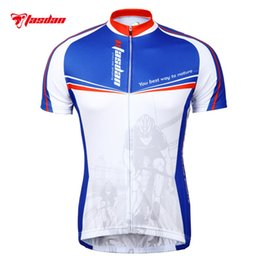 Sublimation Jerseys Canada - Tasdan Athlete Comfortable Cycling Jerseys  Skin Suit Clothing Road Riding Mountain Racing 5ea5535fc